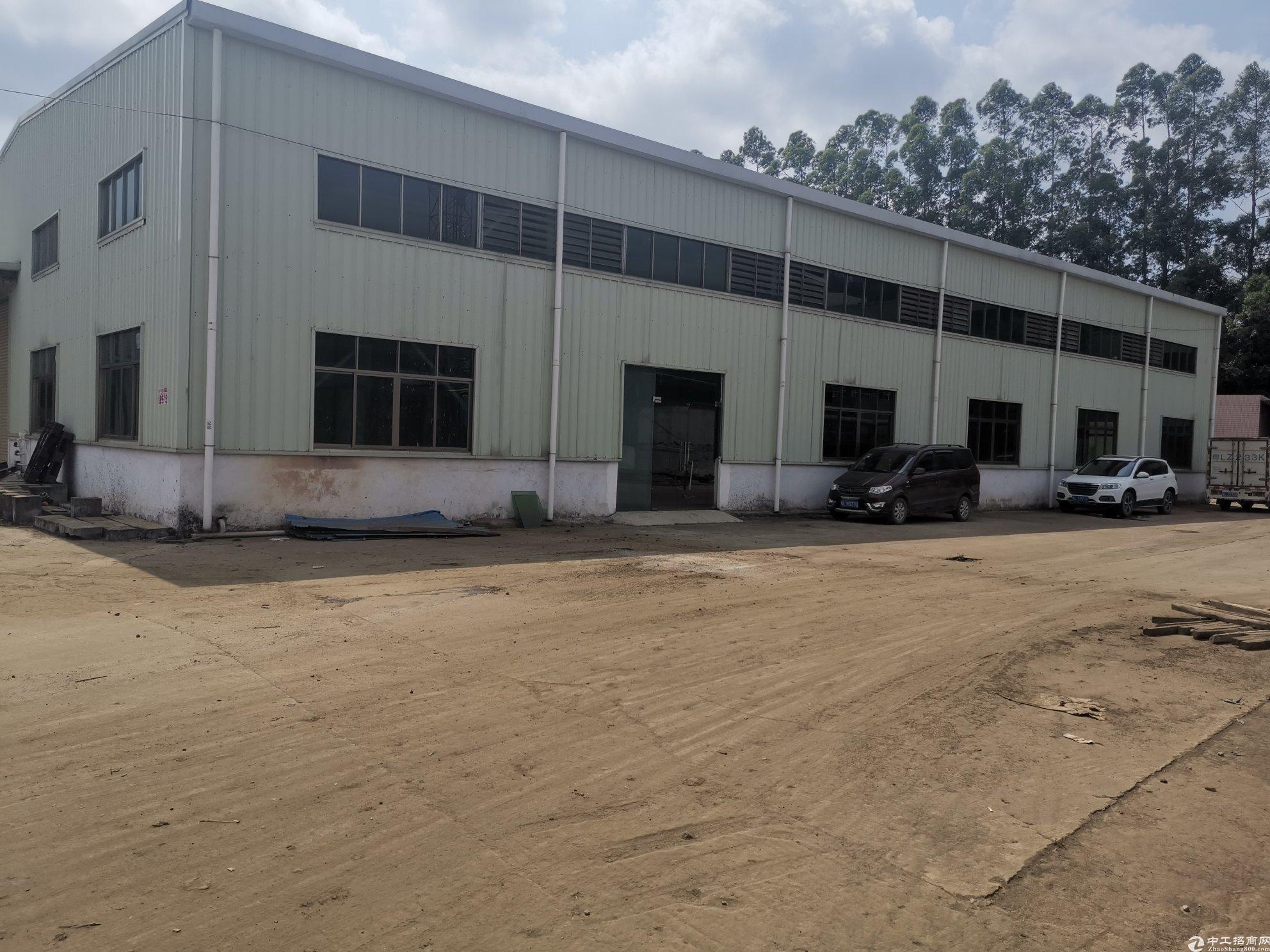 惠阳镇隆镇新空出独门独院钢构厂房2530平方米可办环评