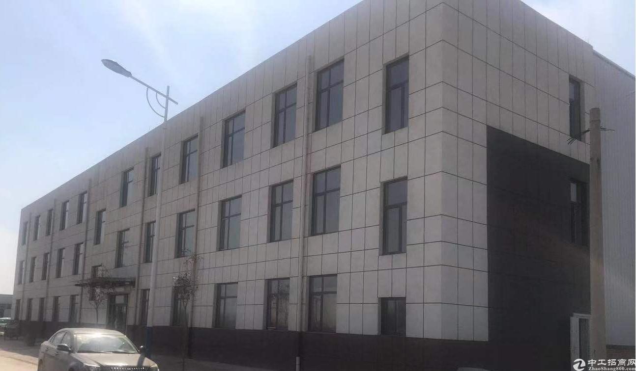 绿天使利津县产业园标准工业厂房对外出租钢结构