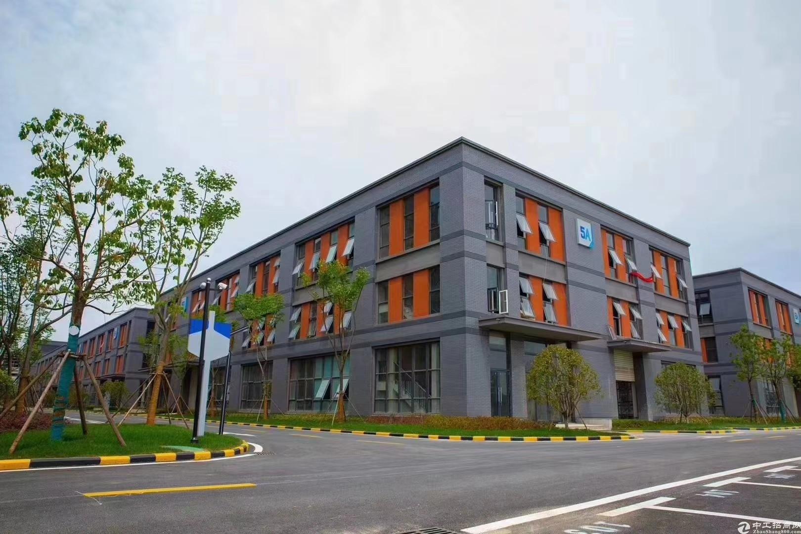现房厂房滁州南谯中南高科50年产权三层独栋物流方便