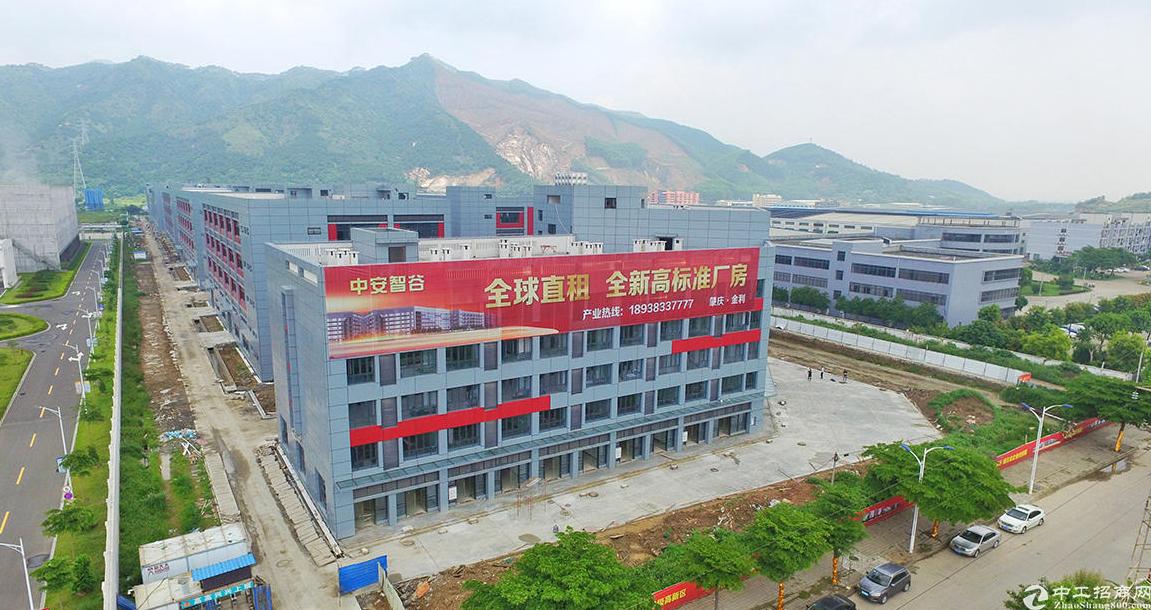 高要金利全新标准厂房出租,层高7米,前店后厂,深圳管理