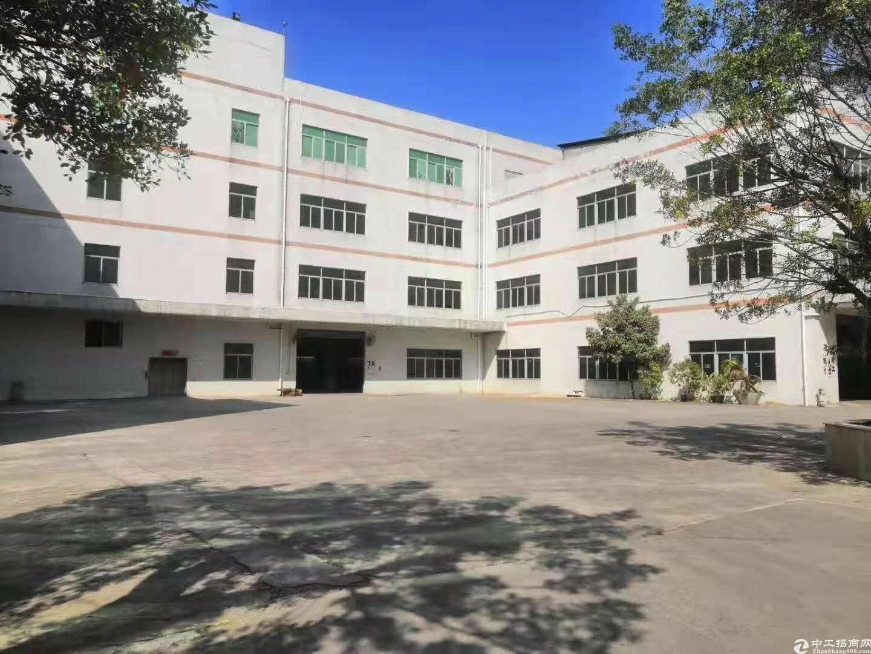 坪山新出精装修独院7500平方红本厂房。500平仓库可分租