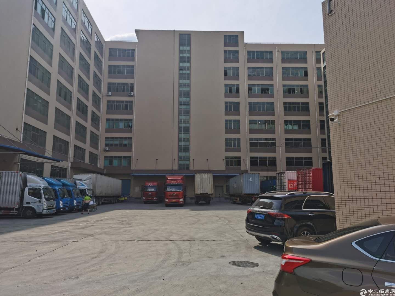 龙岗宝龙工业园5万平厂房仓库小面积500平起租一楼厂房可分租