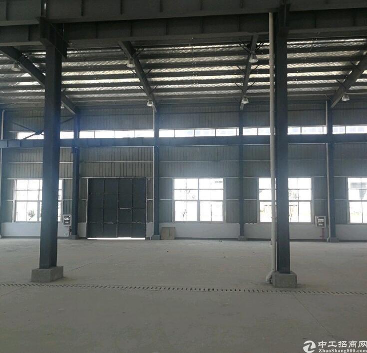 新密独栋厂房出售,6.5米层高50年产权可办环评