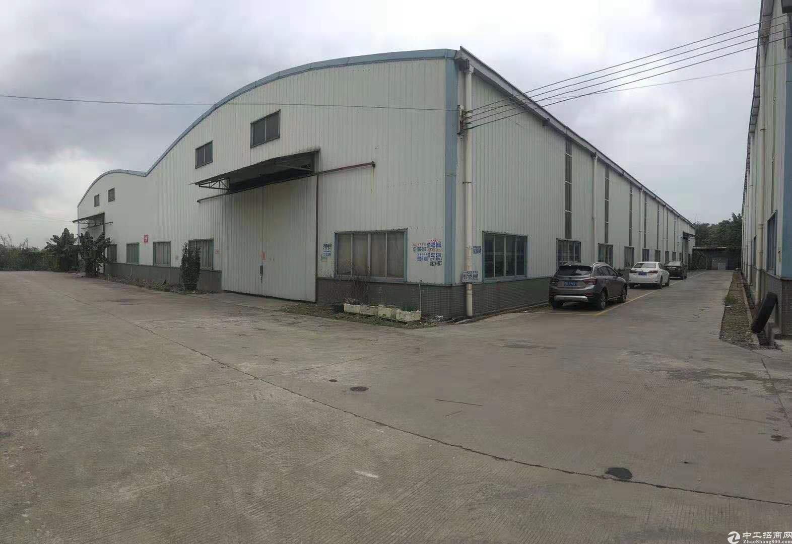 江高工业区新出单一层厂房仓库3000方出租、进车方便