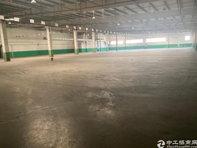 江海区车陂附近单一层厂房仓库7500平出租,可分租