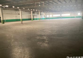 江海区车陂附近单一层厂房仓库7500平出租,可分租图片1