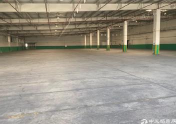 江海区车陂附近单一层厂房仓库7500平出租,可分租图片2