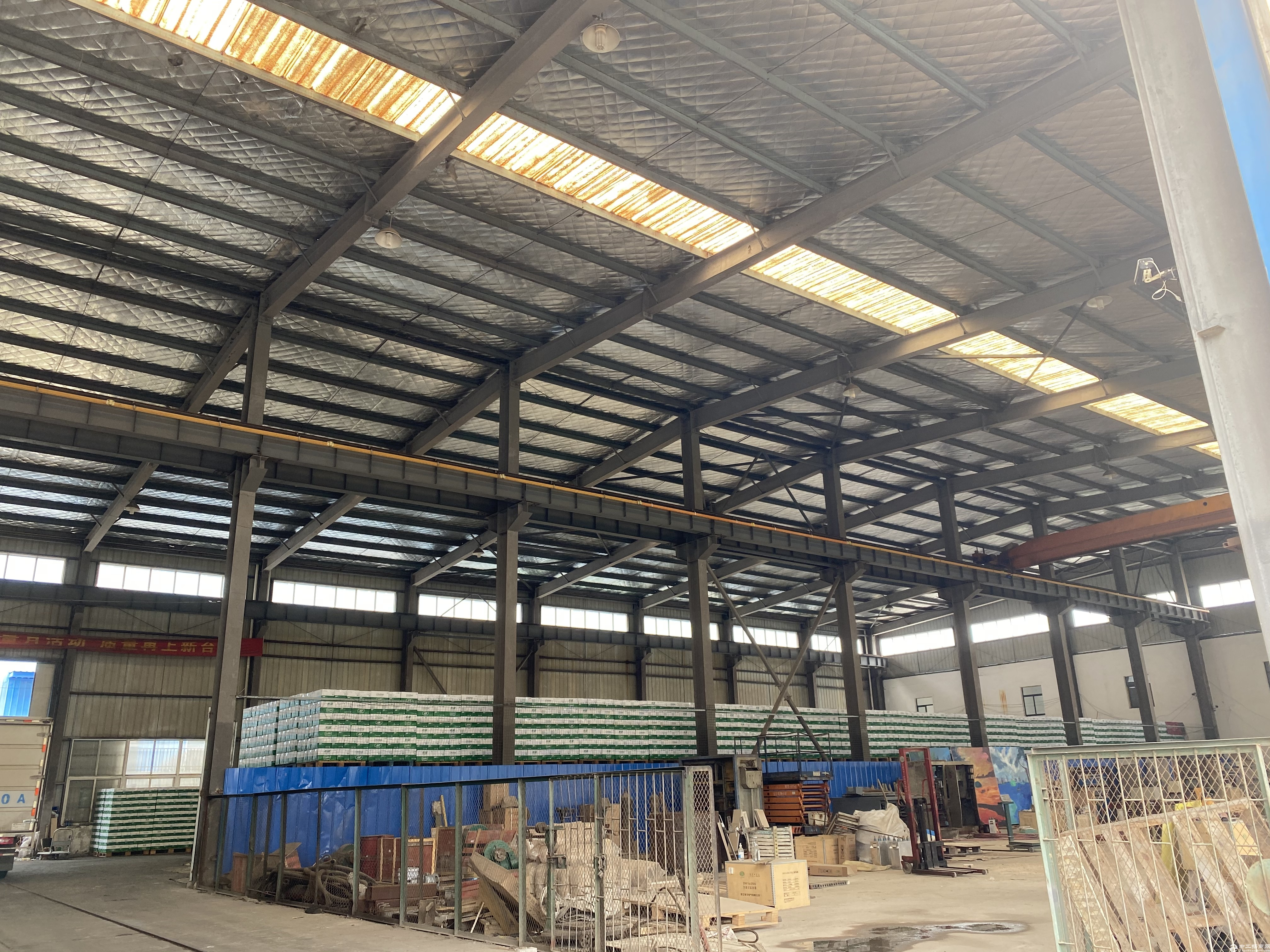 820㎡钢结构厂房出租、离马鞍山高速北2公里