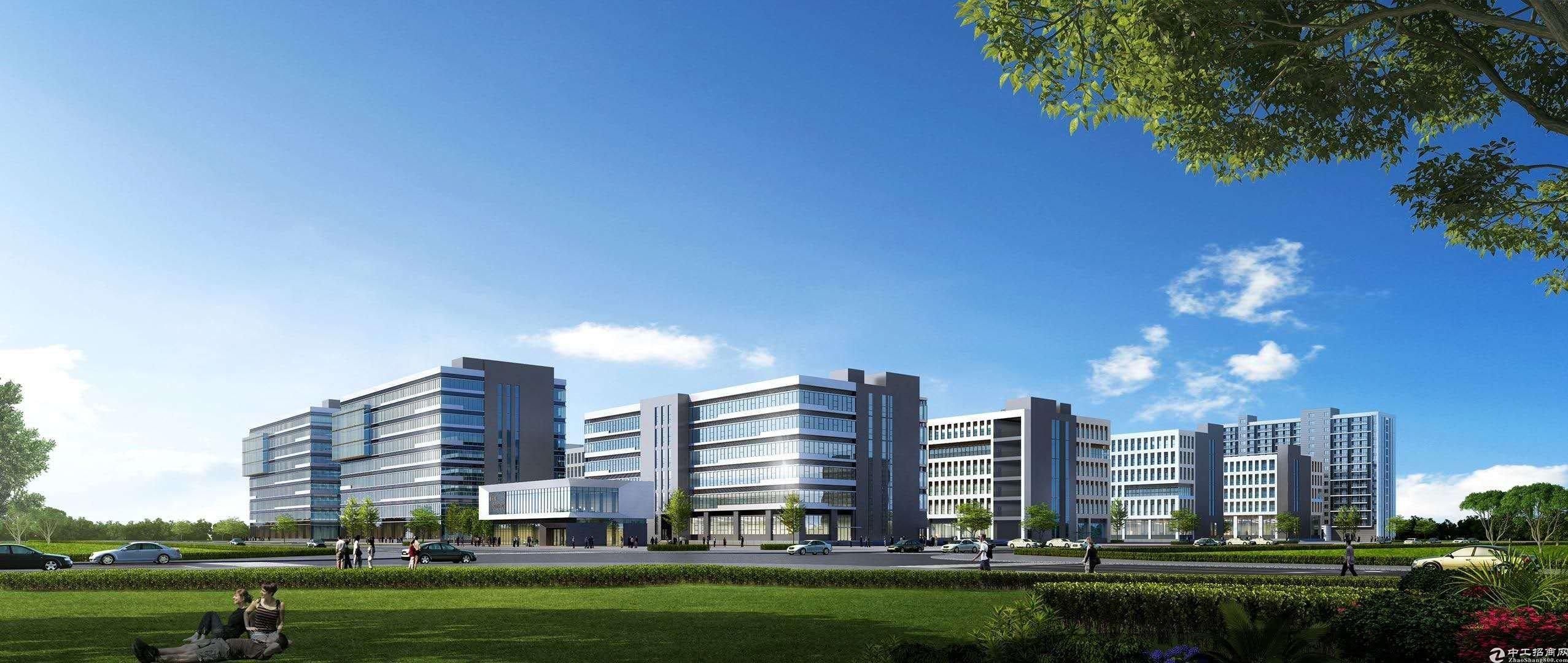 惠州大亚湾临深全新产业园分层分栋独立红本出售1200㎡起售