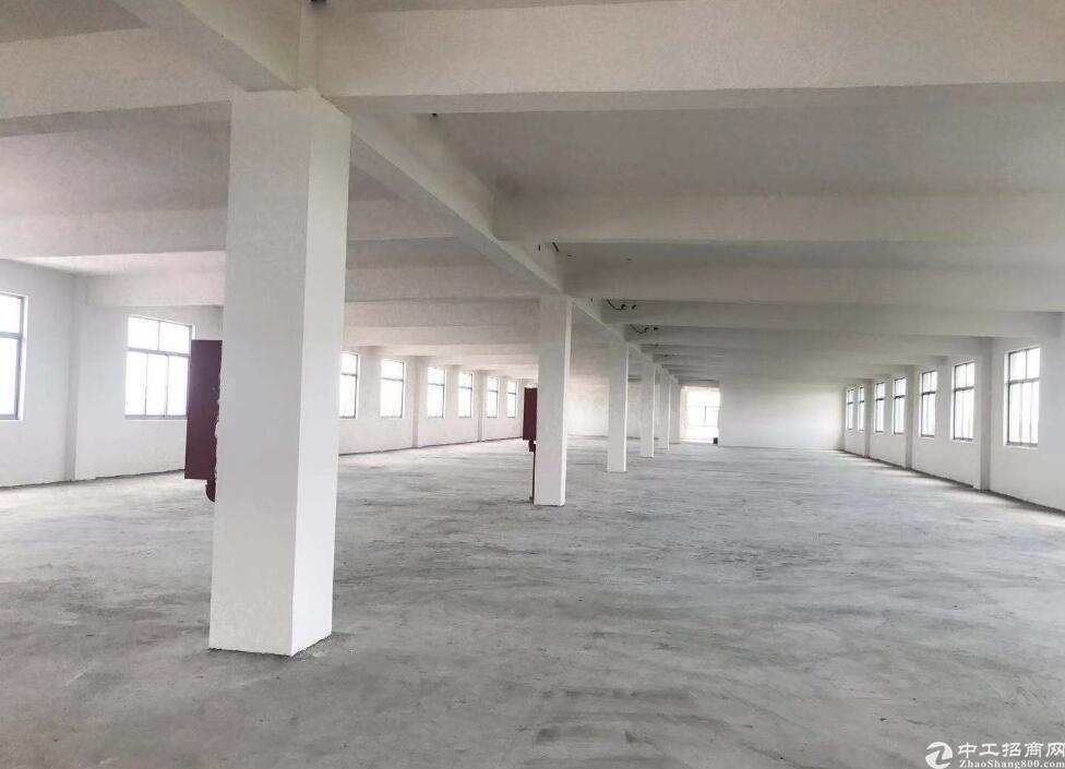 长安区引镇6000平米独栋厂房出租,共四层,首层高7.5米