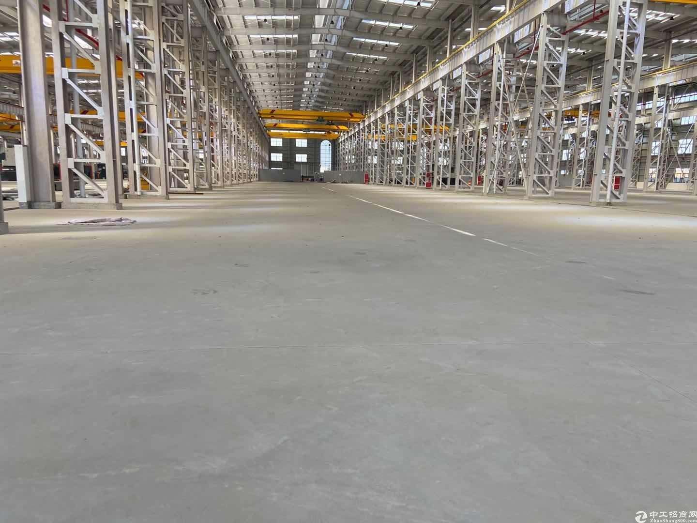 青白江同心大道全新钢构2500平带多台行车