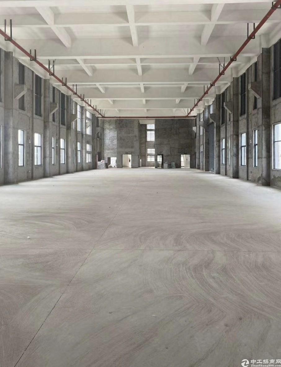 极稀缺全新单层钢结构厂房出售,非中介开发商直售,紧靠高速口