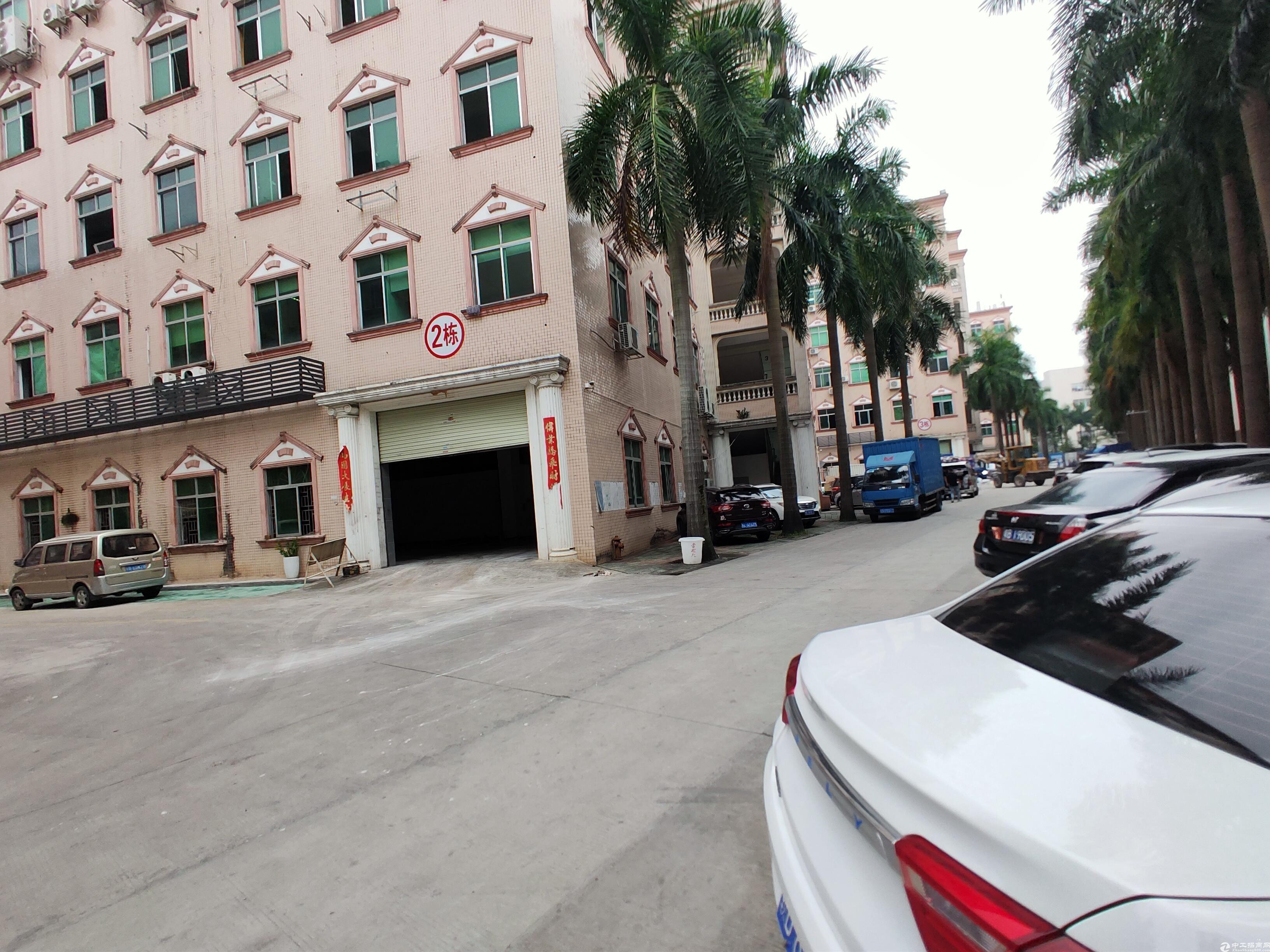 龙岗一楼厂房出租1100平新生仓库出租大马路边