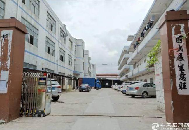 坪山石井工业园10元平米仓库厂房出租实际面积租