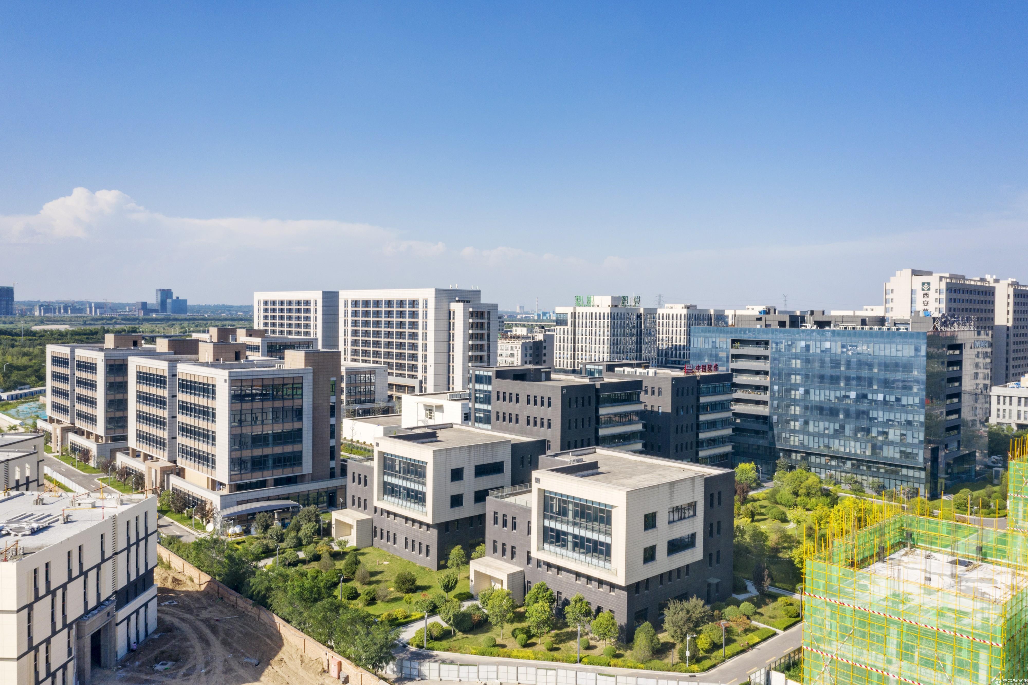 西安市未央区临近高铁站2766㎡独栋产业楼出售