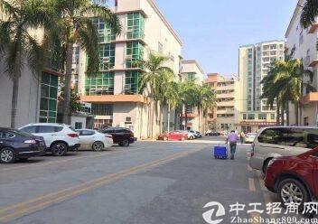 布吉秀峰工业区新出一楼标准厂房出租高5米1900平仓库物流