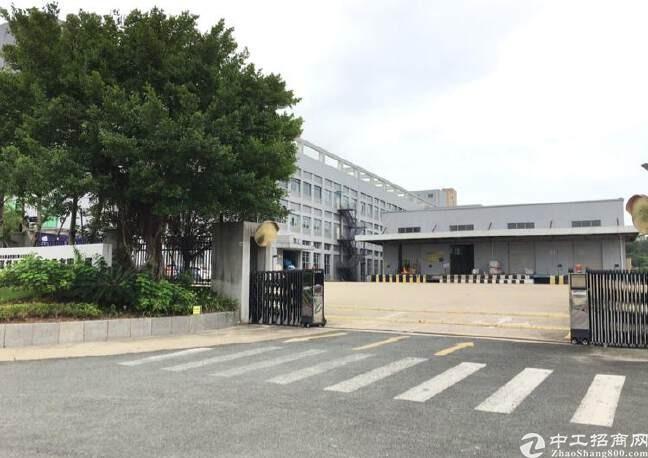 横岗六约3500平红本厂房仓库招租.层高11米带装卸货平台
