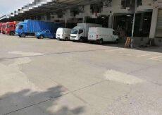 丙二类消防标准物流仓5200平滴水12米带卸货平台