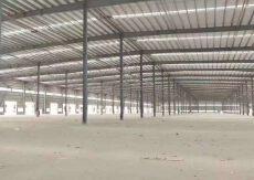 超大空地超好形象适合各种行业钢构厂房物流仓库出租