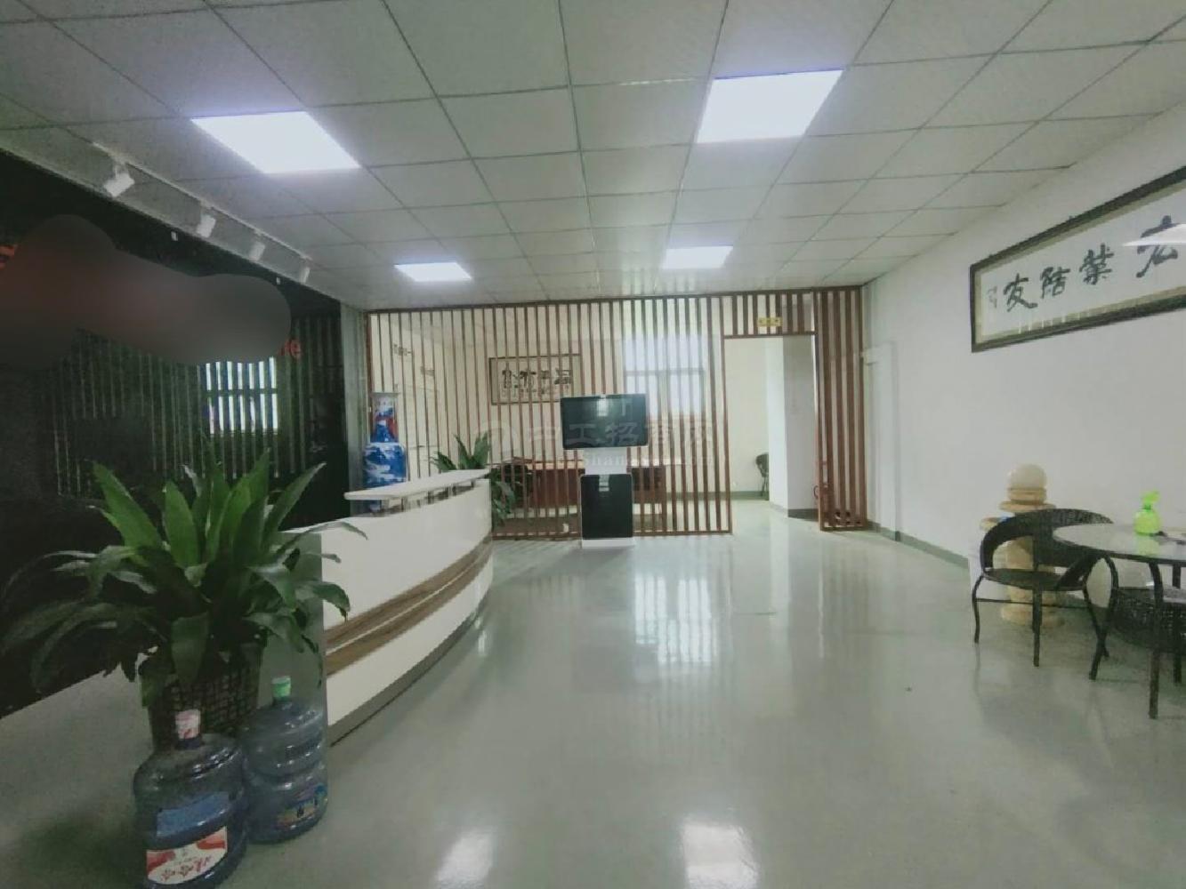 沙井沙一,新出3楼1200平精装厂房仓库,豪华装修,使用率高