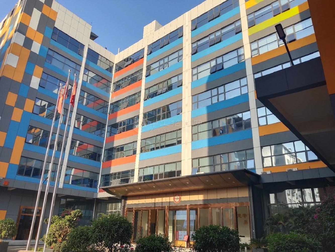 西乡固戍地铁站,楼上整层500平厂房仓库出租,带装修可分租