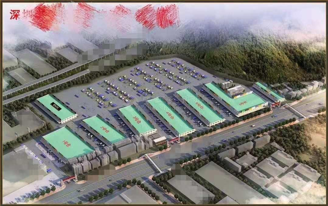 福永深圳机场附近单一层标准物流仓库面积20000平