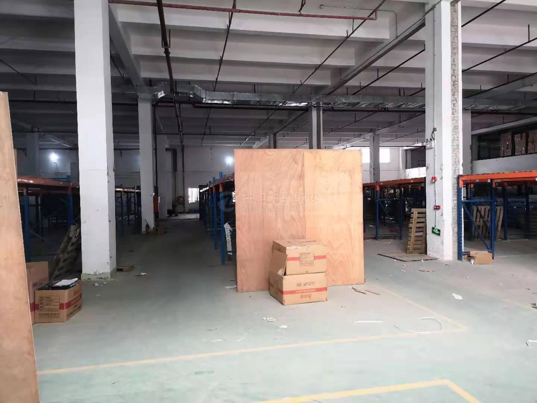 一楼滴水7米带卸货平台整栋两层4000平仓库重工业厂房出租