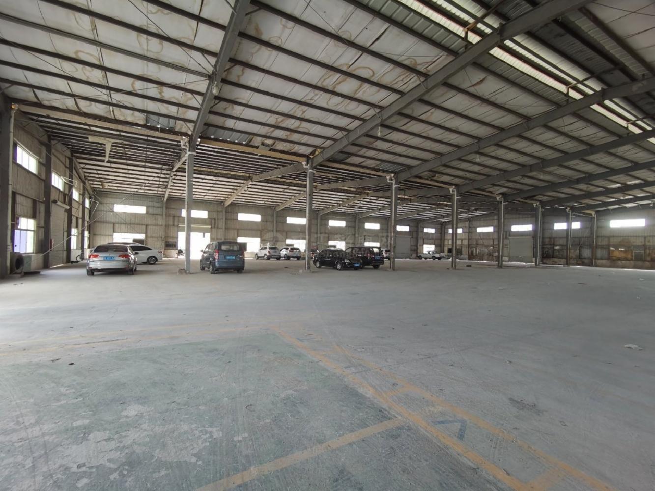 出租|西乡固戍3400平原房东独栋钢构滴水8米仓库厂房可分租