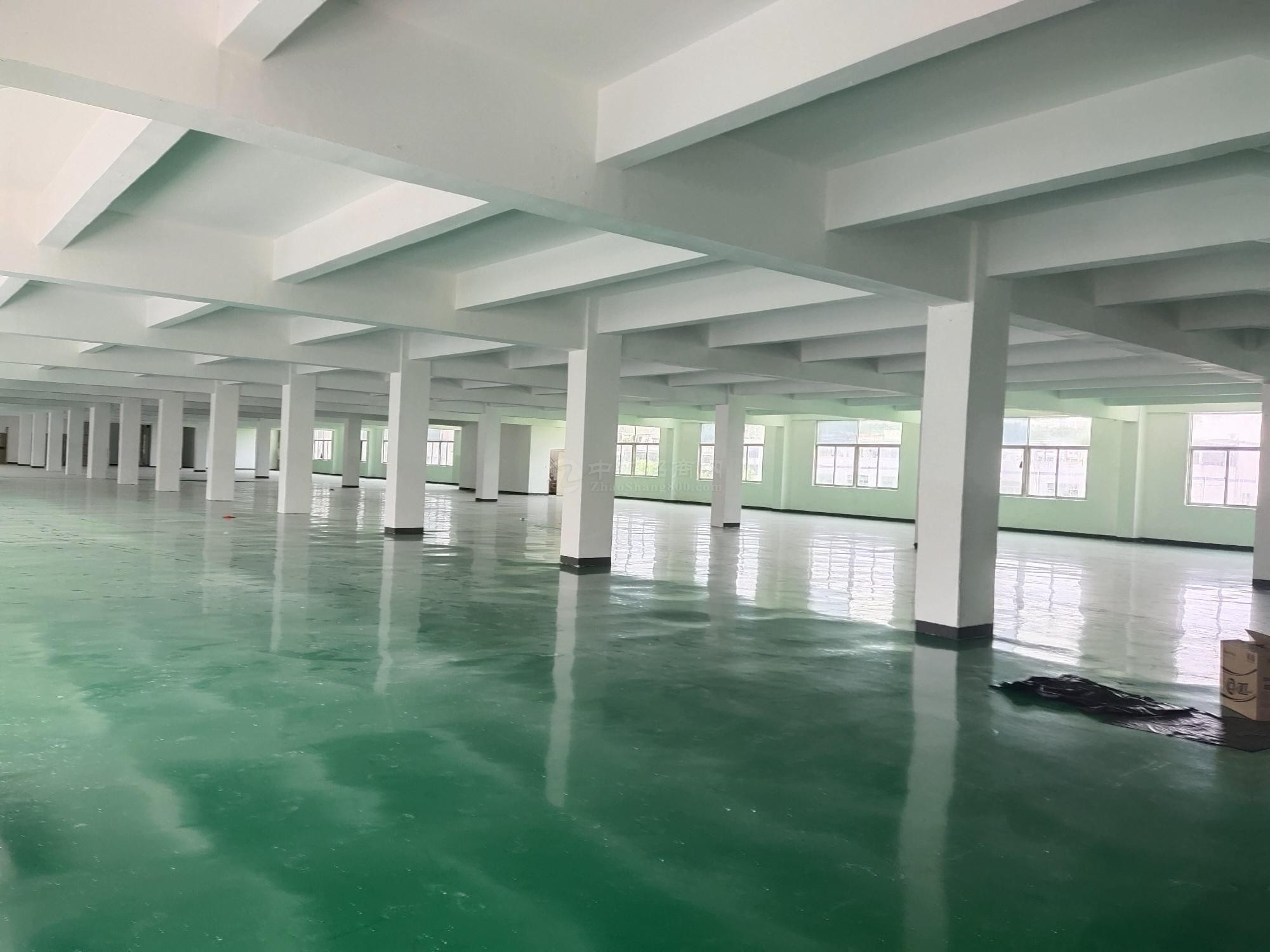 布吉上李朗工业区一楼1200平厂房仓库办公出租可分租,可分租