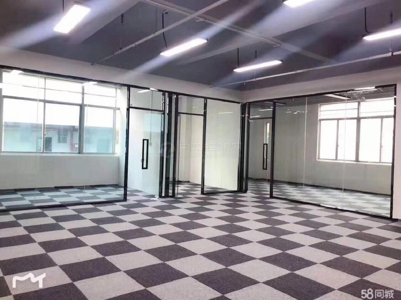 坂田全新电商园带装修1500平办公厂房仓库出租,可分租