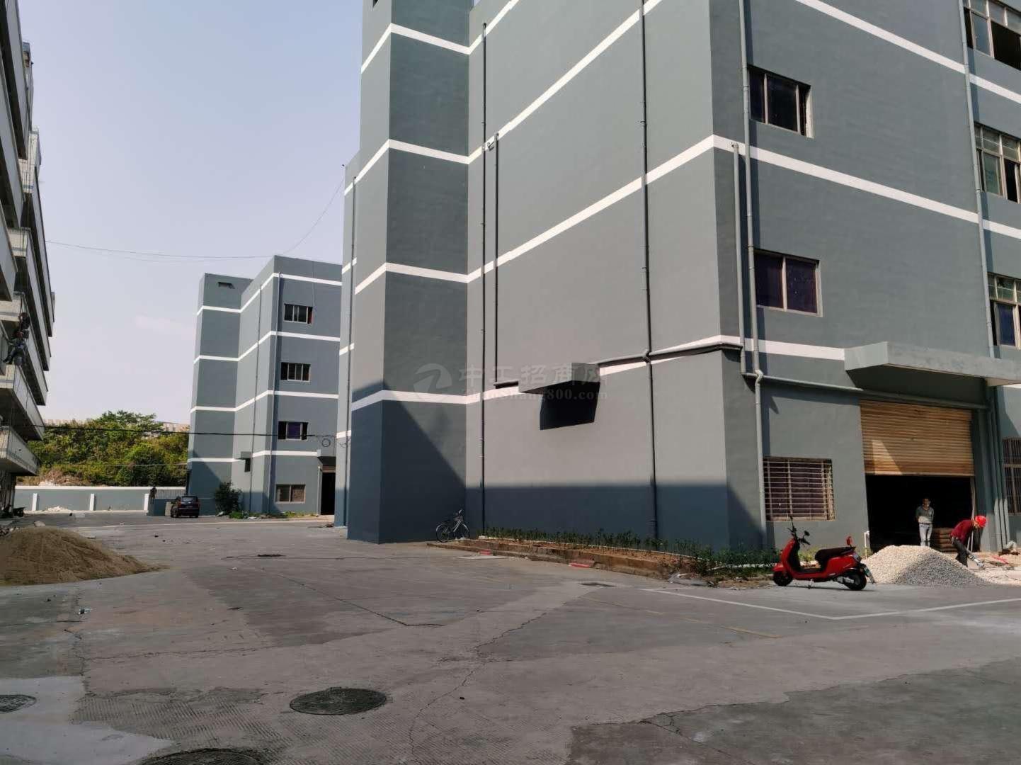 坂田平湖交汇处大型工业园500~2000平厂房仓库办公出租!