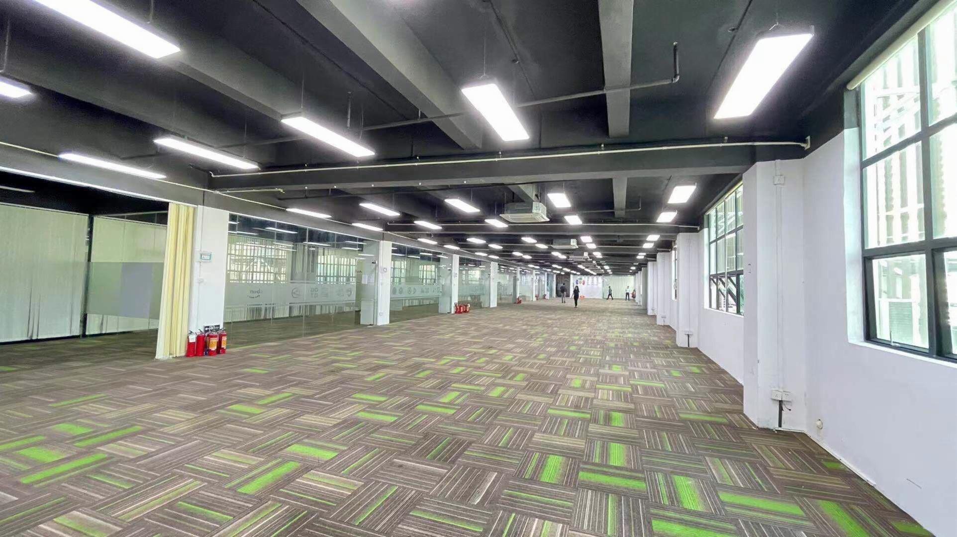 西乡地铁口创意园区300平起租电商仓库办公研发生产基地出租