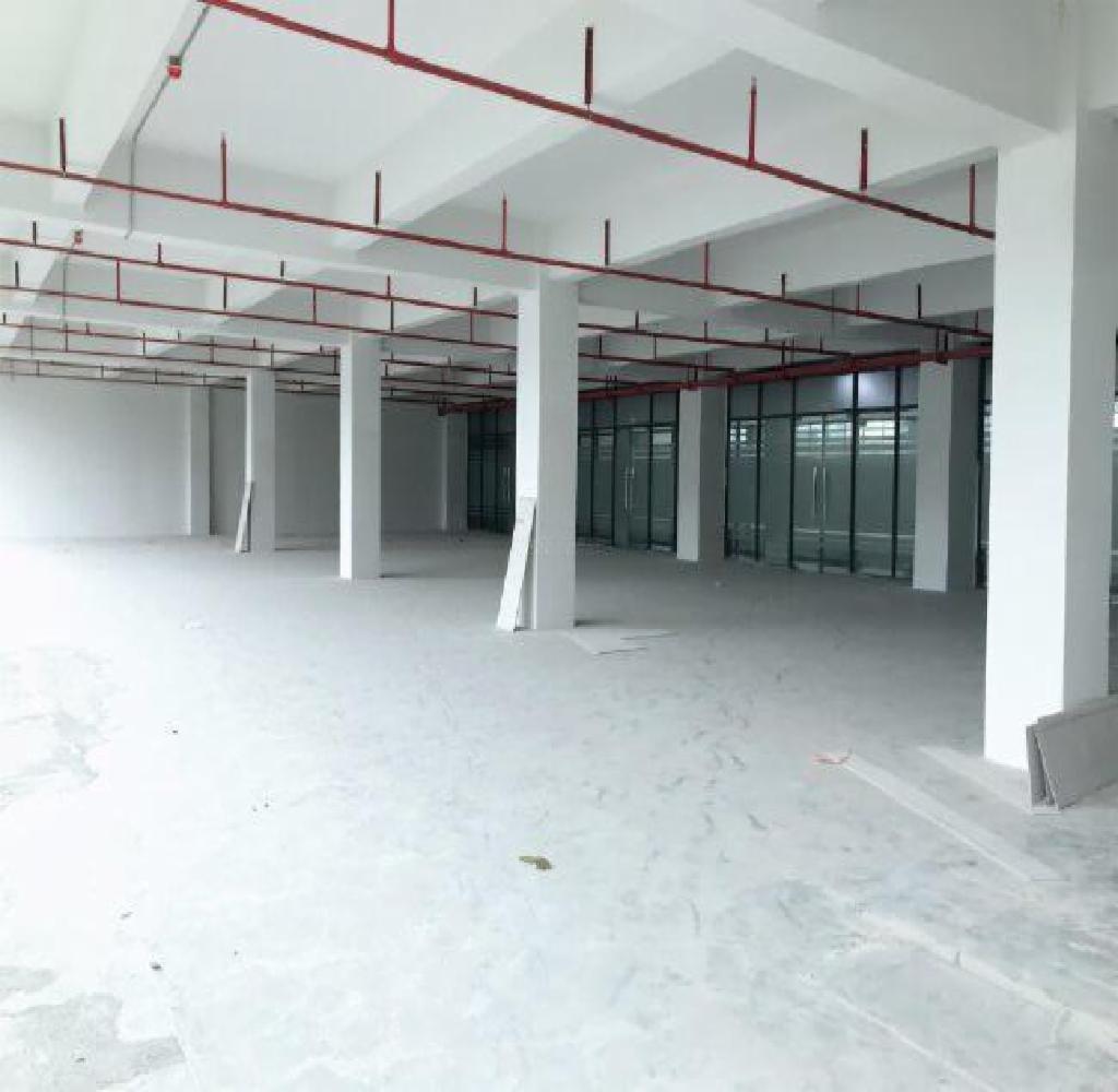 坂田工业园整层2200平红本厂房仓库办公出租,可注册,可分租