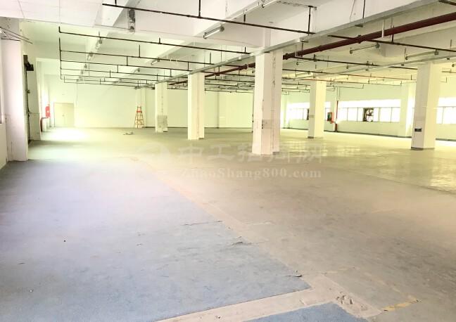 布吉李朗工业园1080平米厂房出租一楼仓库出租原房东实际面积