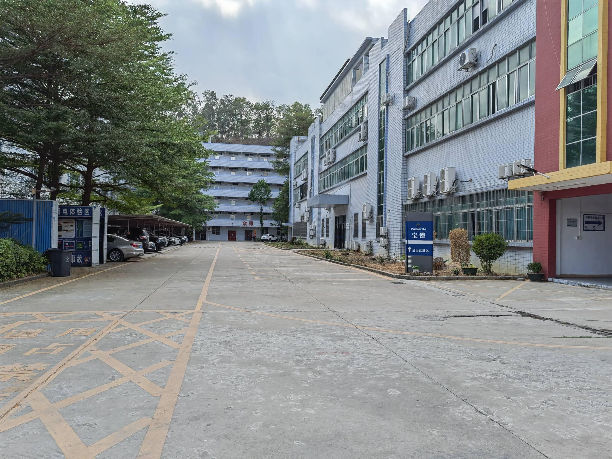 坪山碧岭工业区独院7500平厂房一楼仓库出租大小分租能办环评
