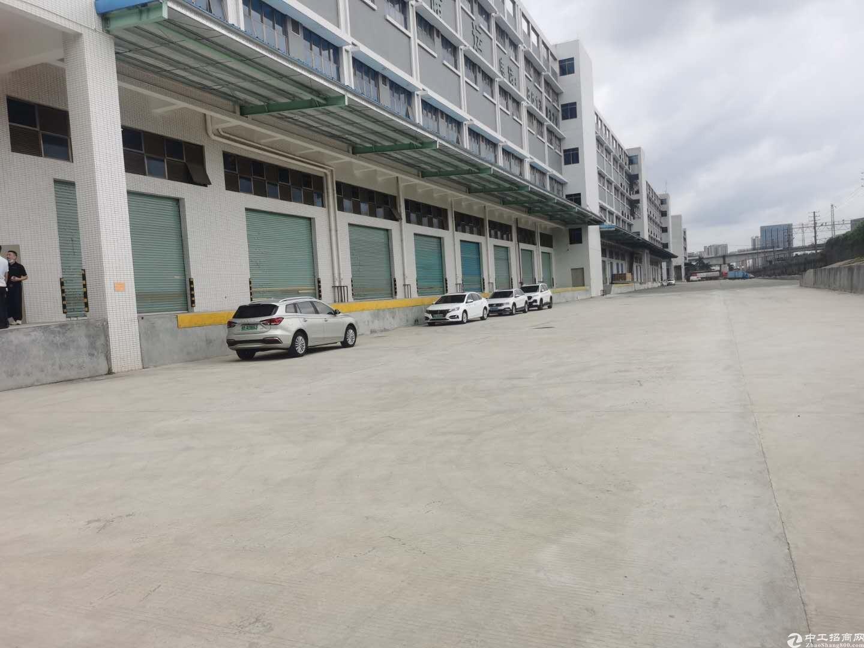 3000平一楼高6米公明上村工业园仓库厂房出租可分租